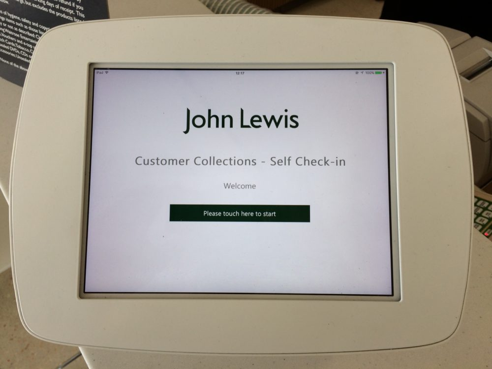 Waitrose Launches Self Serve Check In For Click And Collect Orders