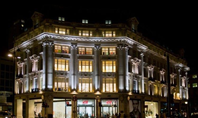 H&M's flagship london store