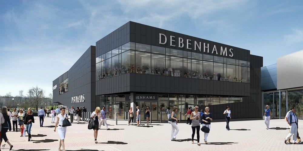 5578e2accec84 Debenhams profits plummet by 84%