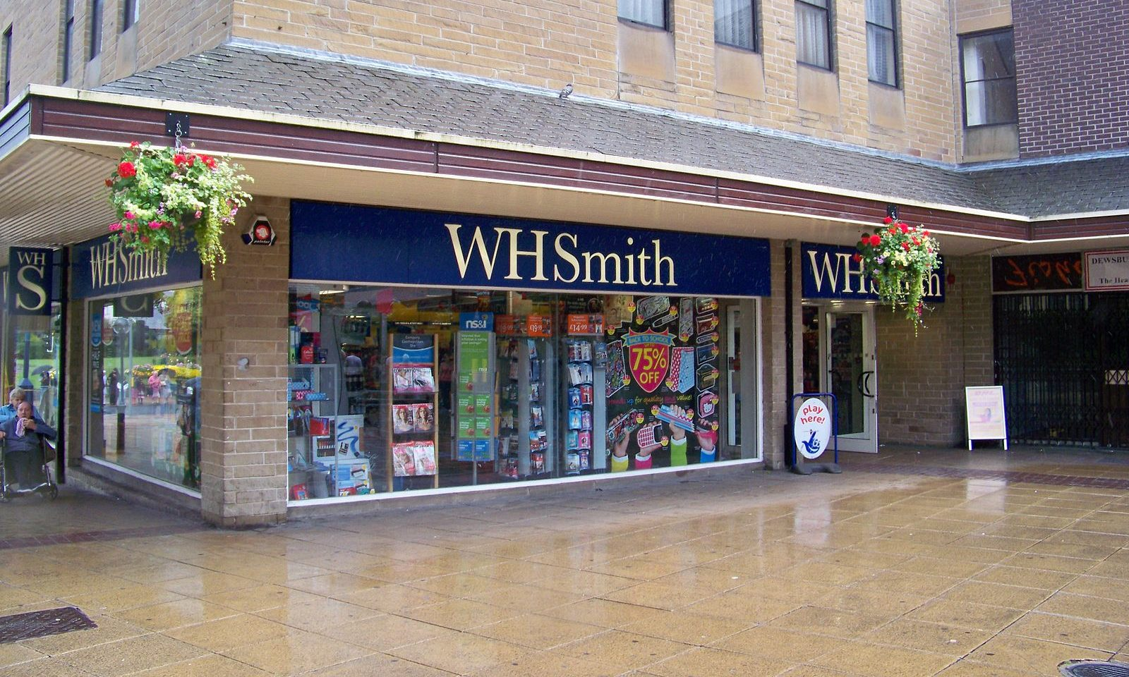 Whsmith Fined 337500 After Customer Falls Through Trapdoor